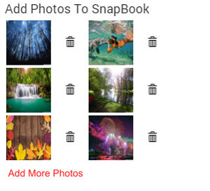 snapbook photos